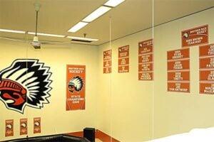 Locker Room Record Board Stickers