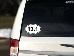 13.1 Car Sticker Removable