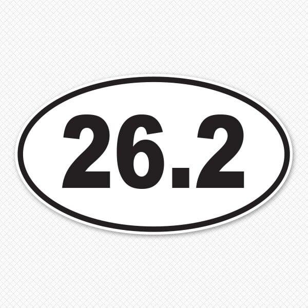 26.2 Car Sticker Print