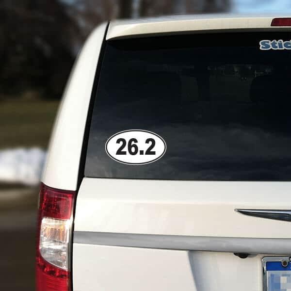 26.2 Car Sticker Removable