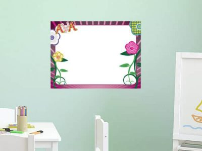Flower Power Dry Erase Sticker