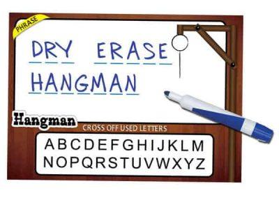 Dry Erase Hangman Game