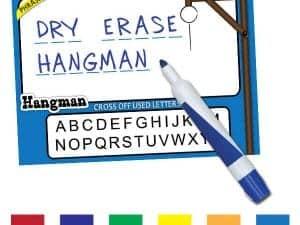 Dry Erase Game - Hangman