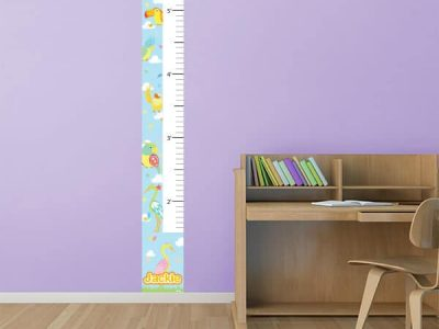 Bird Boulevard Growth Chart Sticker