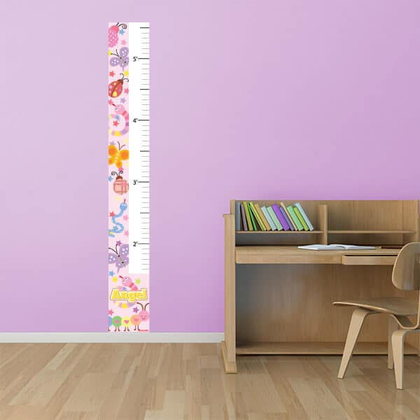 Bugs Bonanza Removable Growth Chart