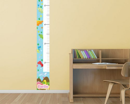 Dino Days Growth Chart Restickable