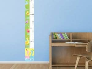Diving Ducks Removable Growth Chart