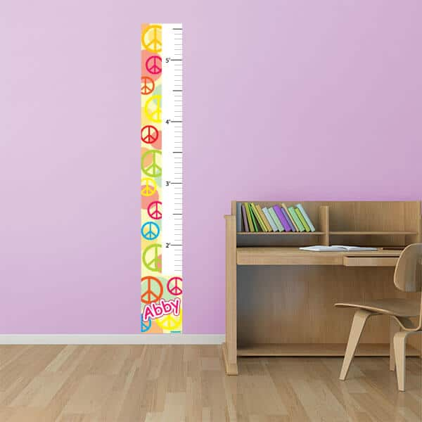 Peace Signs Growth Chart