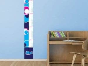 Retro Circles Growth Chart