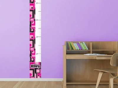 Retro Squares Growth Chart