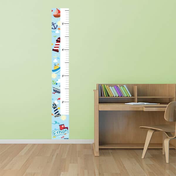 Sail the Stickle Seas Growth Chart