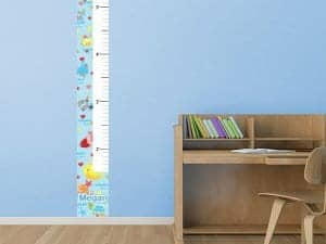 Removable Turtle Time Growth Chart