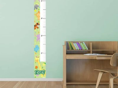 Zootastic Animals Growth Chart