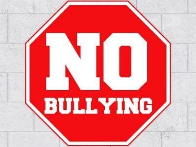 Stop Sign No Bullying