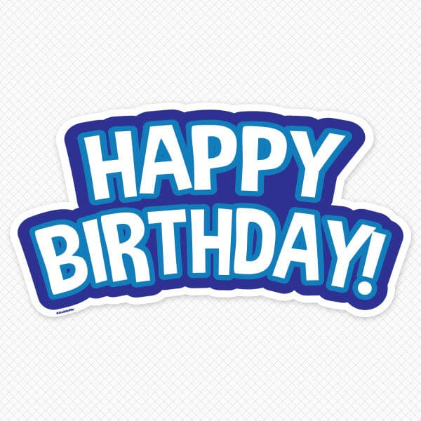 happy birthday wall decals birthday wall stickers