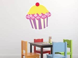 Cupcake Wall Graphic Display