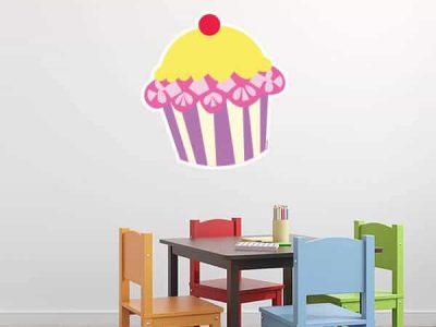 Cupcake Wall Graphic Display