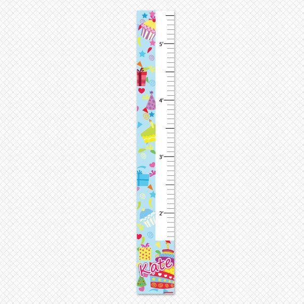 Birthday Growth Chart Printed