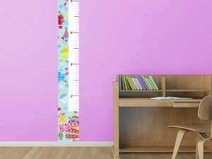 Birthday Theme Growth Chart