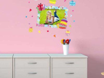 Restickable Photo Frame Birthday