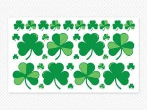 Shamrock Sheet Restickable
