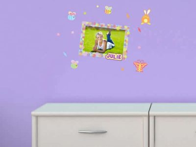 Beautiful Bugs Personalized Sticker Frame