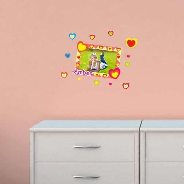 Bright Hearts Sticker Frame
