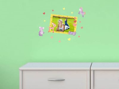 Cute Critters Theme Sticker Frame