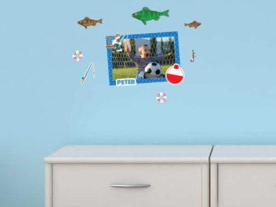 The Fisherman Restickable Sticker Frame