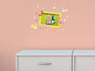 Flamingo and Friends Sticker Frame