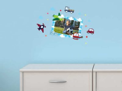 Planes & Automobile Photo Sticker Frame