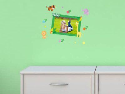 Zoo Tastic Restickable Sticker Frame
