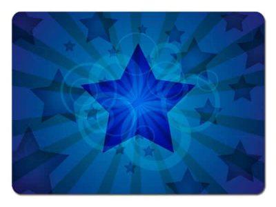 Blue Star Rays Skin
