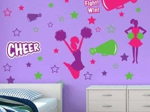 Cheer Tastic Wall Decor Restickables