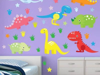 Dino Days Removable Wall Stickers