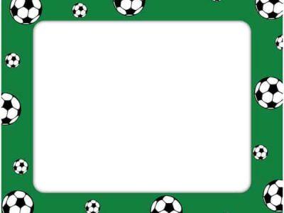 Soccer Sticker Frame