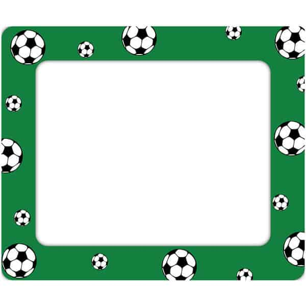 Soccer Photo Frames | Wall Decal Frames | Sticker Genius