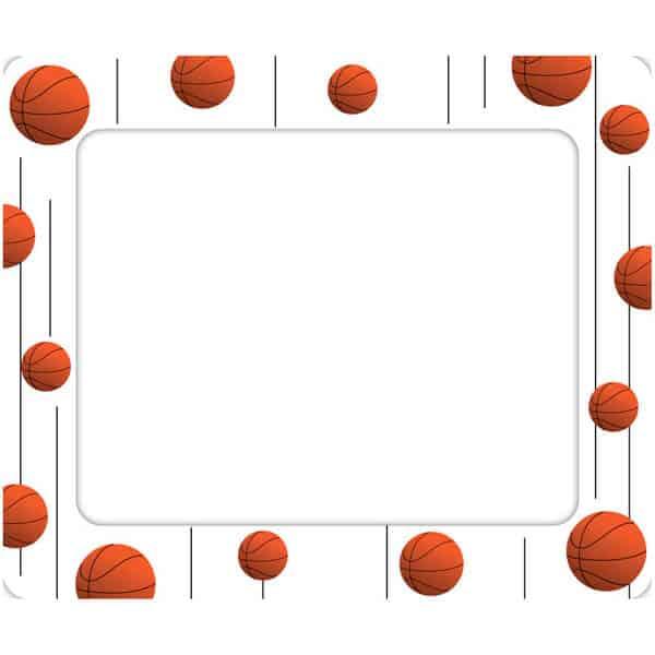 Borders And Frames Basketball photo frame Basketball Borders ...
