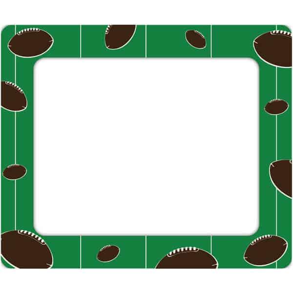 Football Photo Frame Sticker Genius