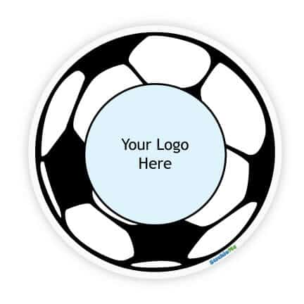 Soccer Team Car Sticker