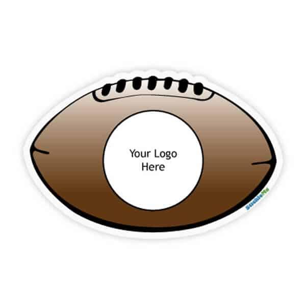Football Team Car Sticker