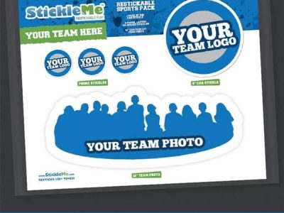 Team Photo Sticker Pack