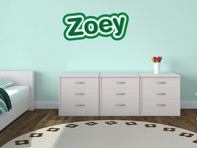 Zoo-Tastic Restickable Wall Name