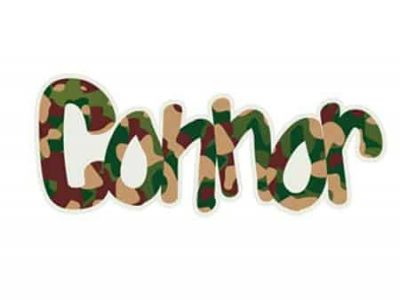 Commander Camo Restickable Wall Name
