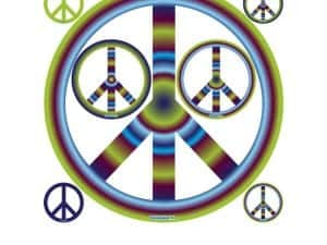 Groovy Peace Sign Set