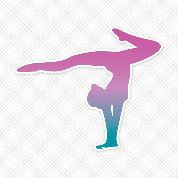 Gymnastics wall decals gymnastics wall stickers