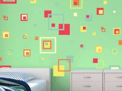 Artsy Squares Room Decor