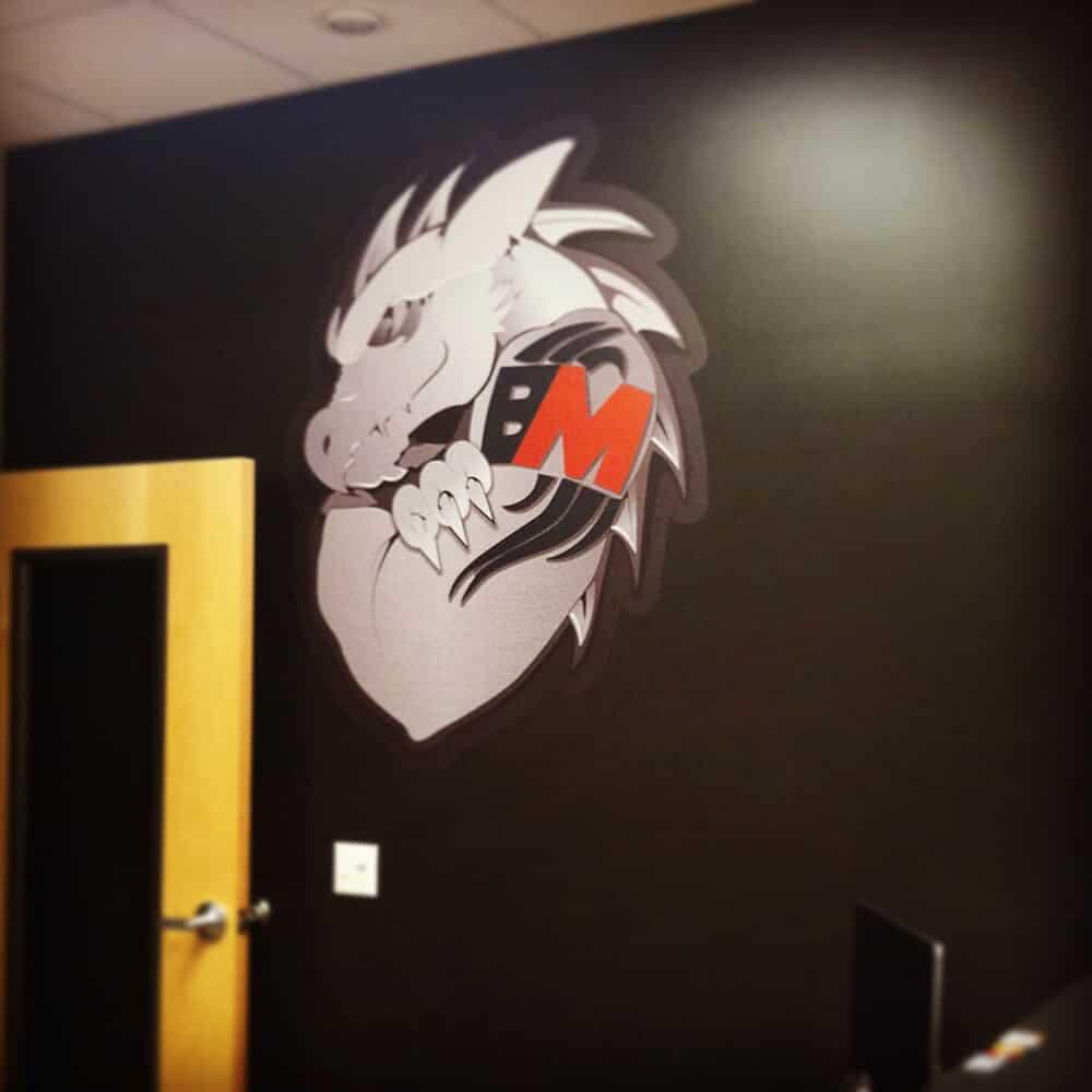 Lobby Wall Decal