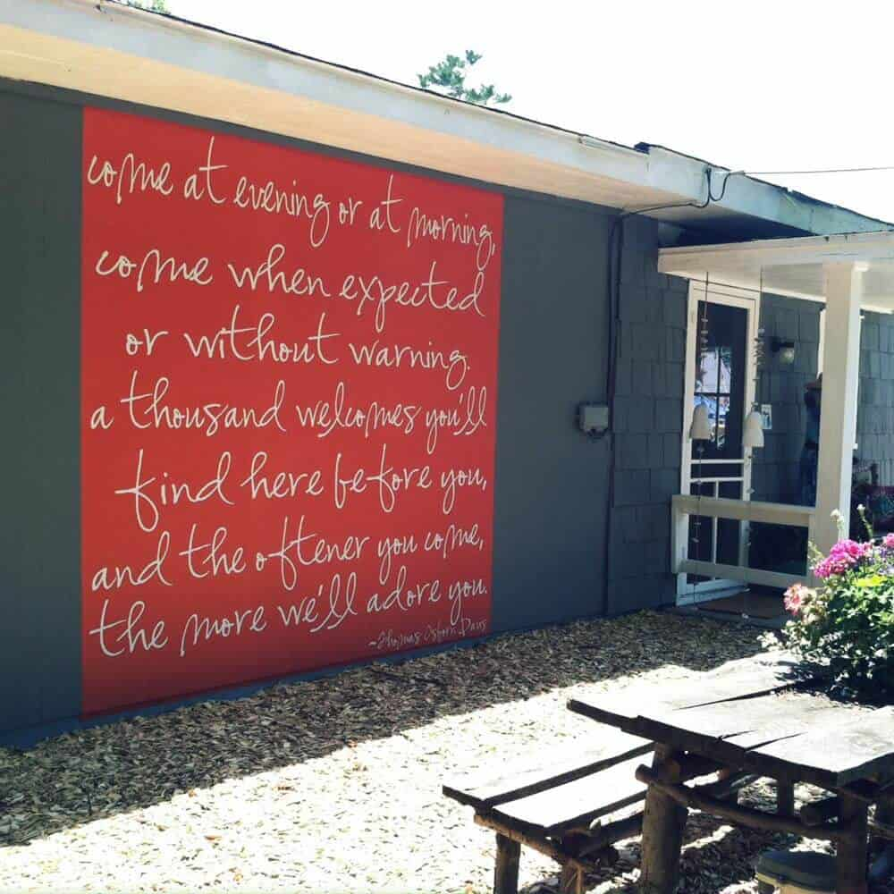 Removable Outdoors Wall Graphic
