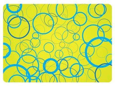 Blue Circles Skin